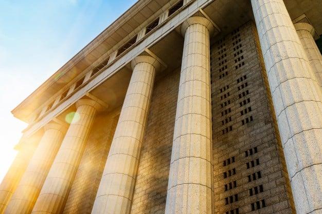 Pilares da estrutura de uma universidade