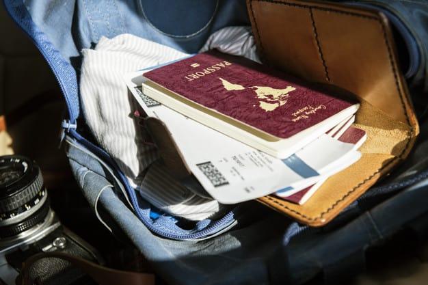 Documentos importantes para realizar uma viagem