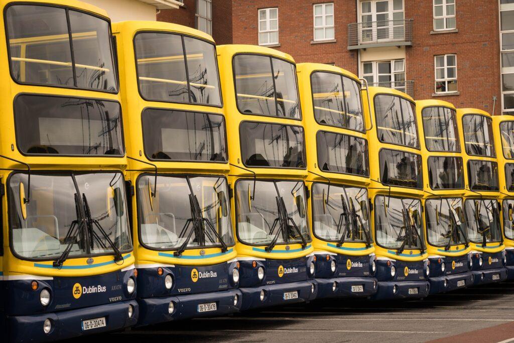 Frota de ônibus irlandesa