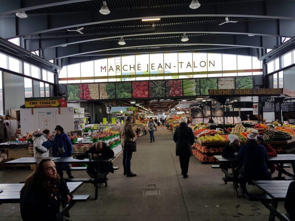 Marché Jean-Talon em Montreal Canadá