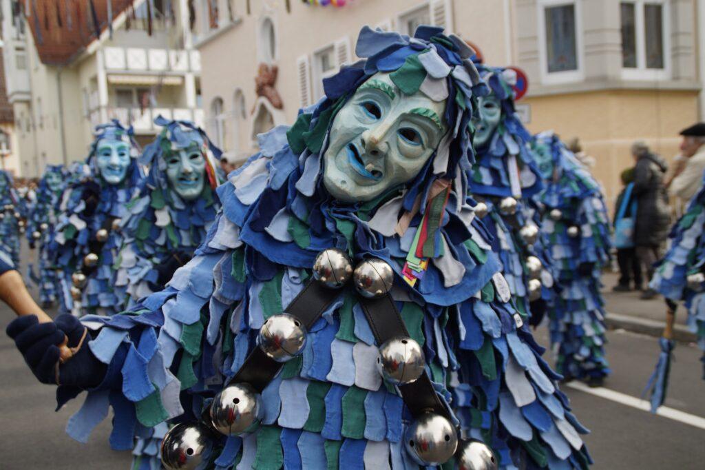 O carnaval  é uma das curiosidades culturais da Alemanha
