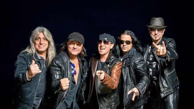 Foto da banda alemã Scorpions