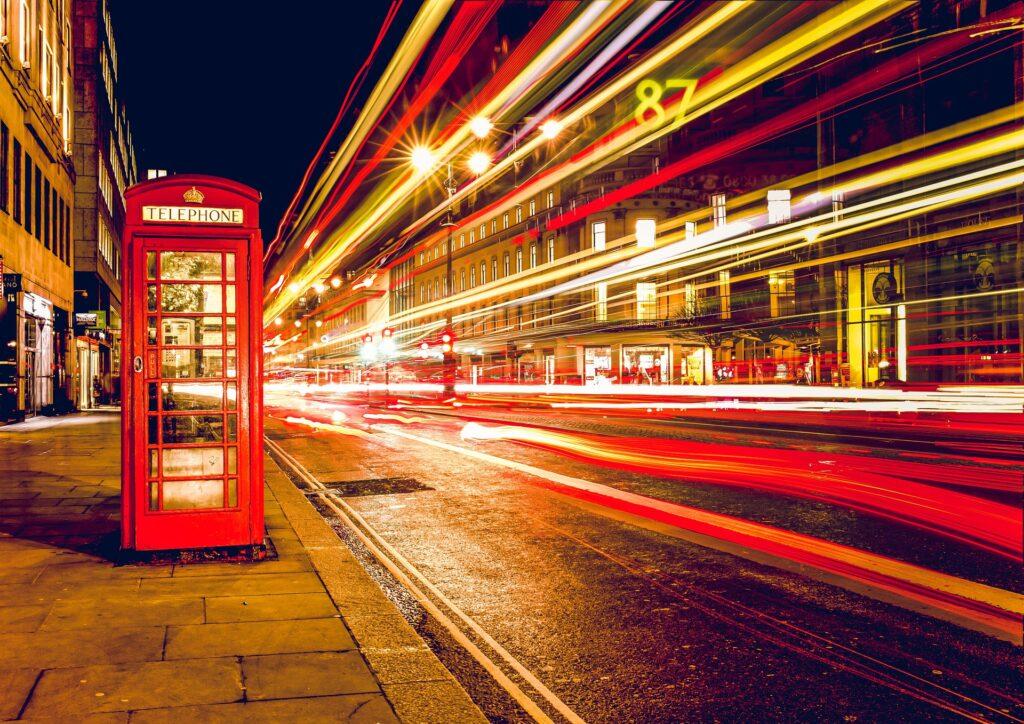 Londres Inglaterra jubilee kiosk