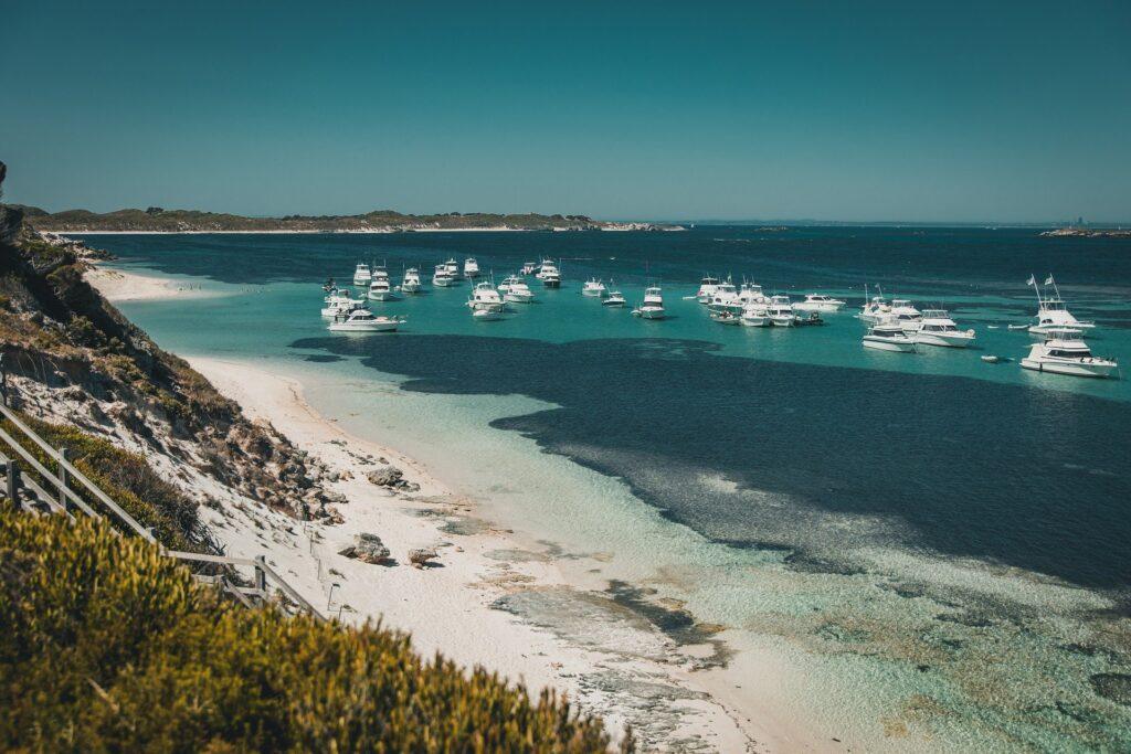Praia na Austrália