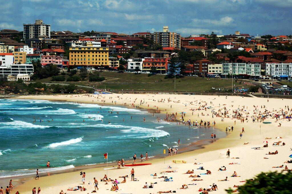 Bond Beach em Sydney Austrália