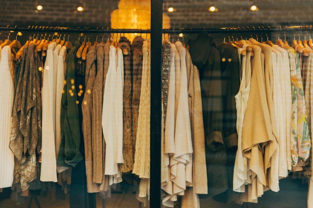 Loja de roupas em Sydney Austrália