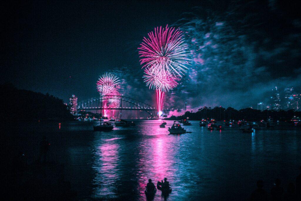 Ano novo em Sydney Austrália