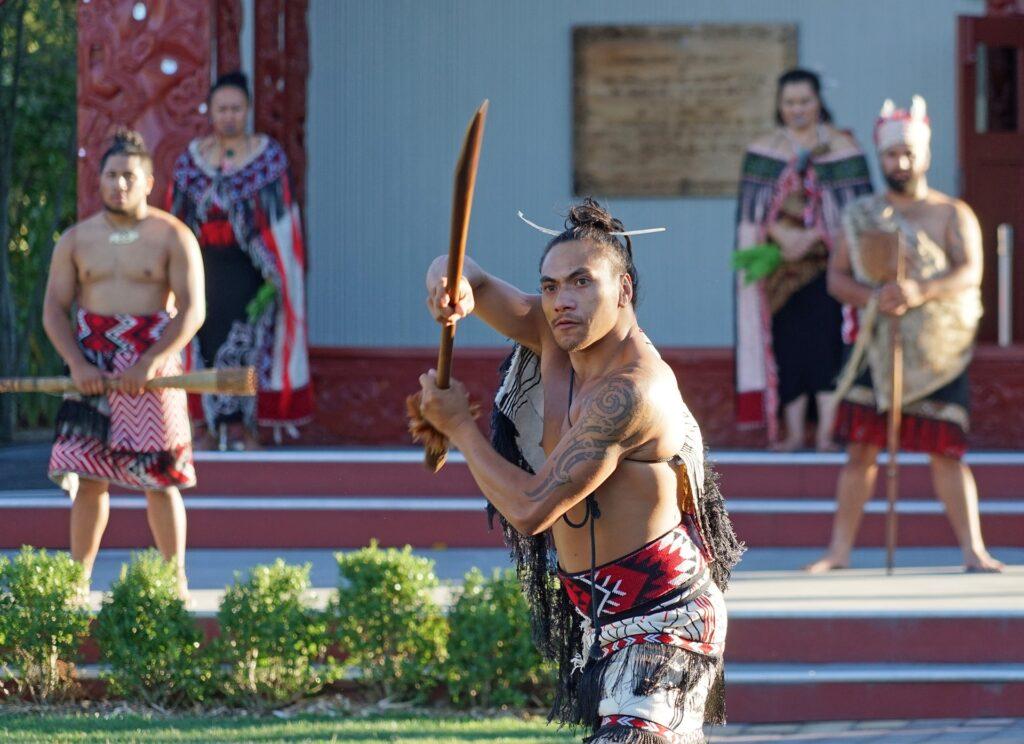 Povo Maori da Nova Zelândia