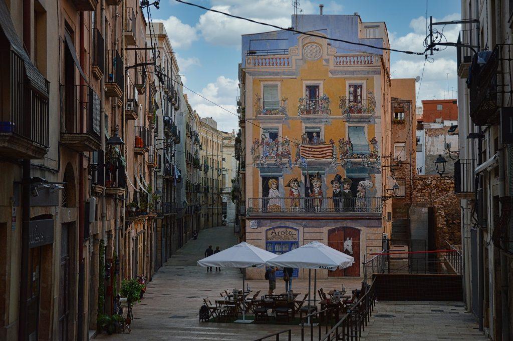 Rua comum na Espanha