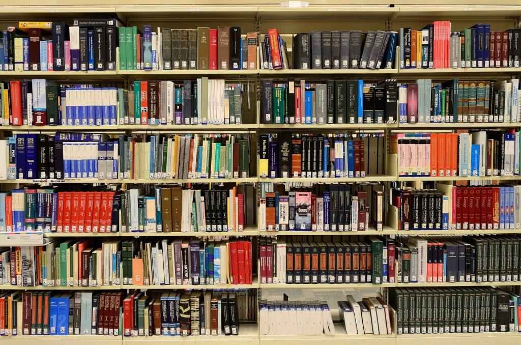 Estudar na Itália: biblioteca