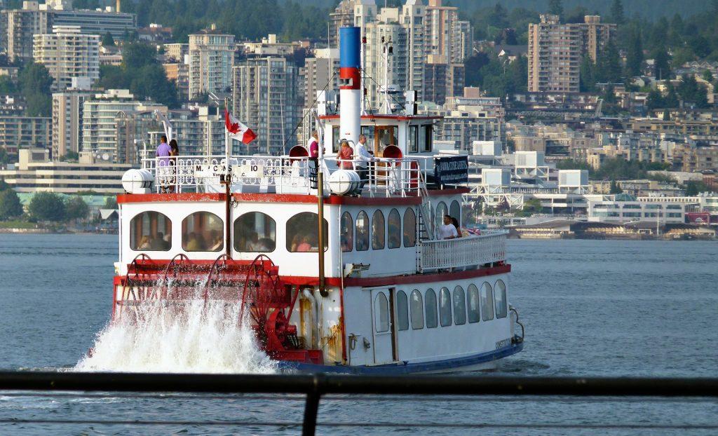 Shuffle Boat em Vancouver