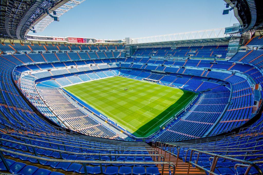 Estádio de futebol na Espanha