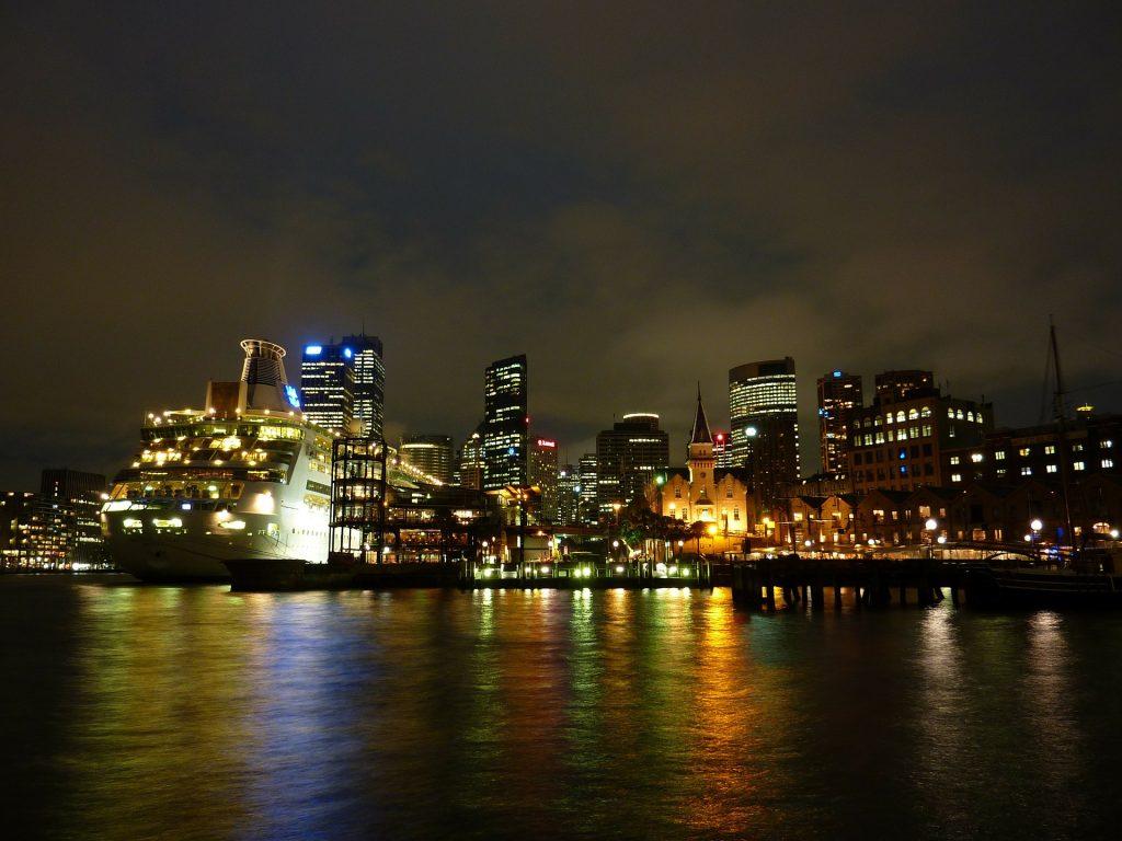 Cidade de Sydney na Austrália
