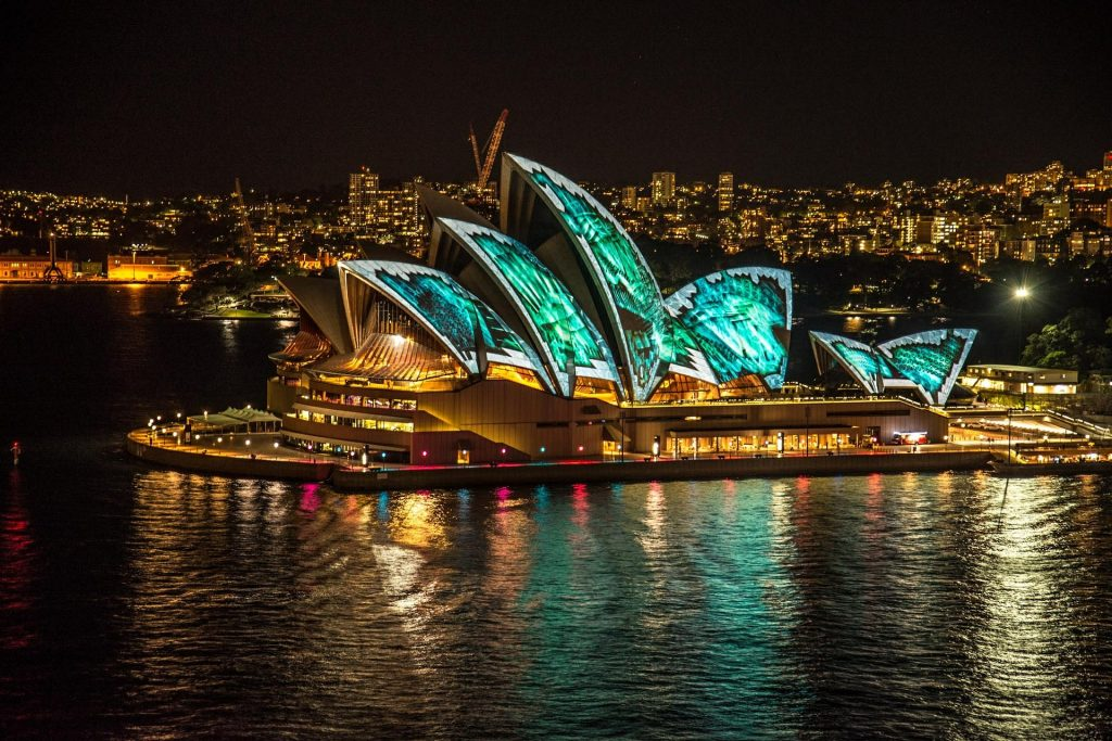 Casa da Ópera de Sydney na Austrália