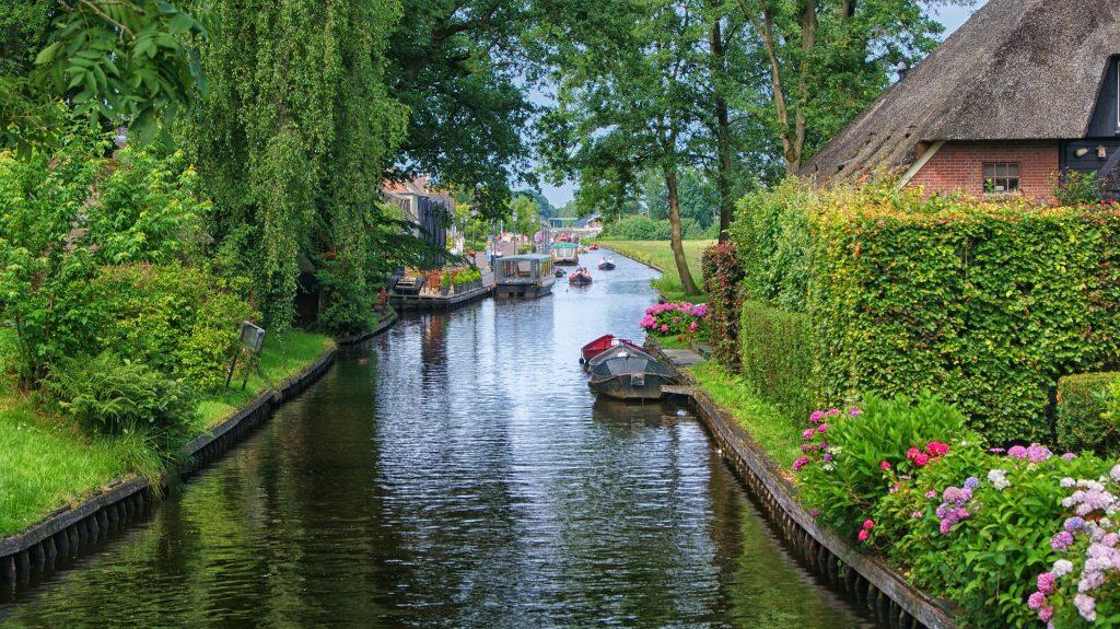 Vila de Giethoorn