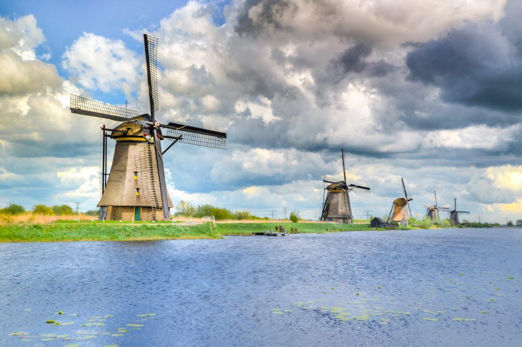 Vila de Kinderdijk