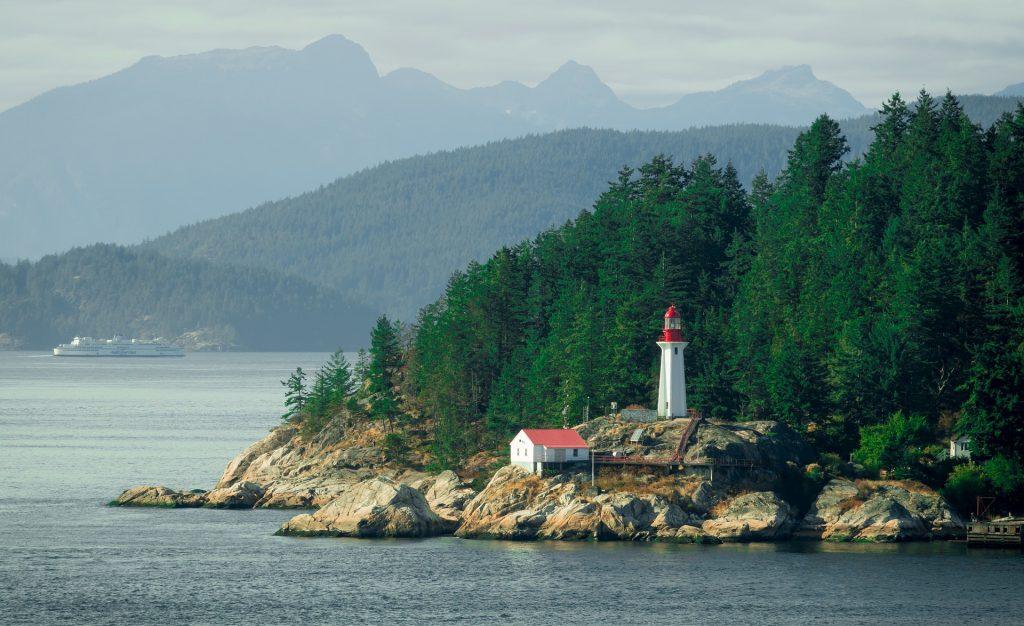 Custo de vida em Vancouver: farol