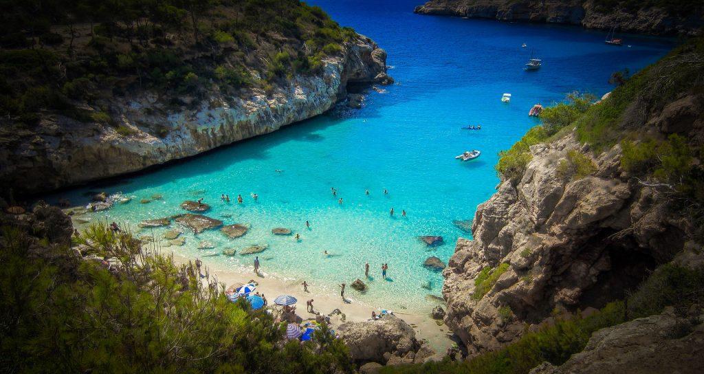 Curiosidades sobre a Espanha: Praia de Maiorca