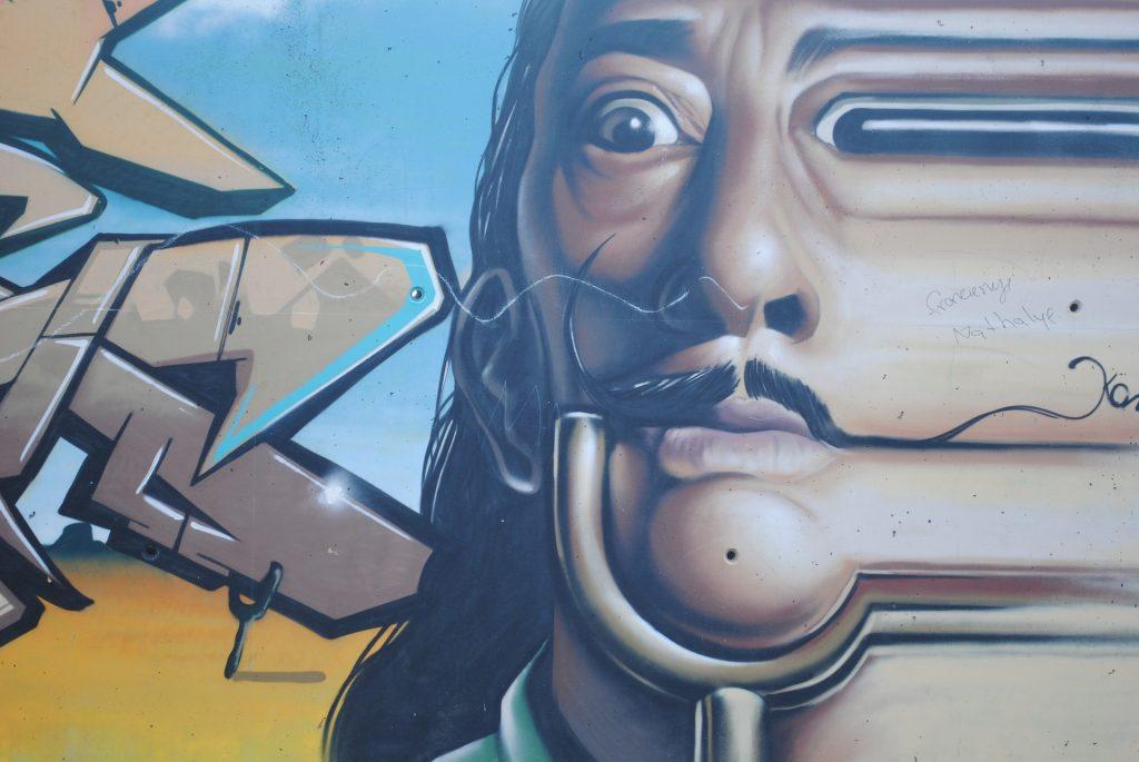 Grafite de Salvador Dalí
