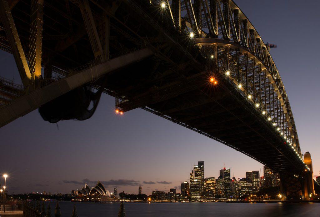 intercâmbio de estudo e trabalho: Austrália