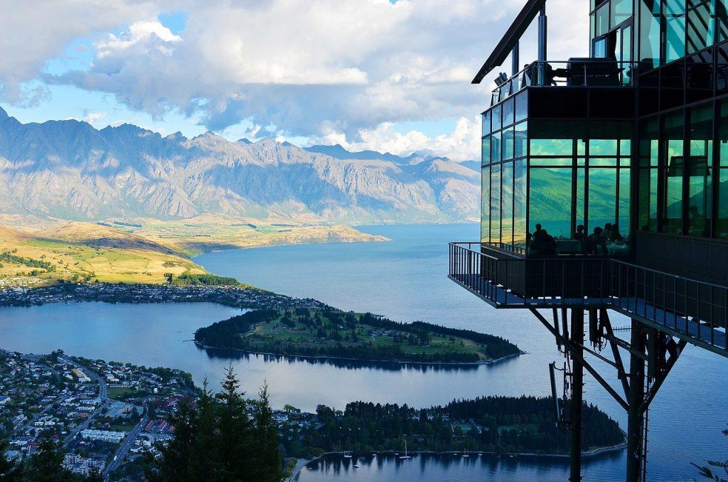 intercâmbio de estudo e trabalho: Nova Zelândia